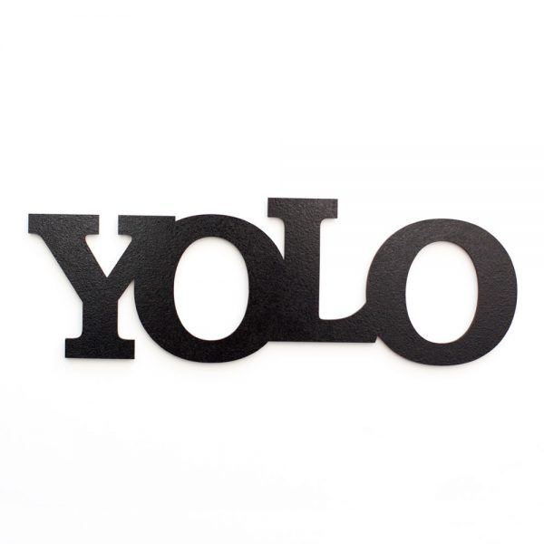 YOLO schwarz