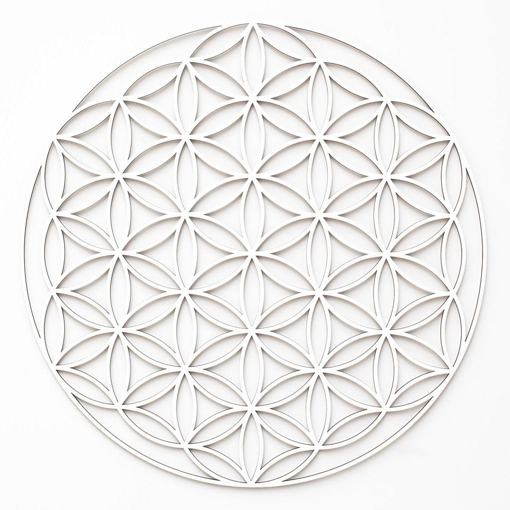blume des lebens flower of life 3d deko. Black Bedroom Furniture Sets. Home Design Ideas