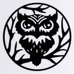 Wanddeko Owl