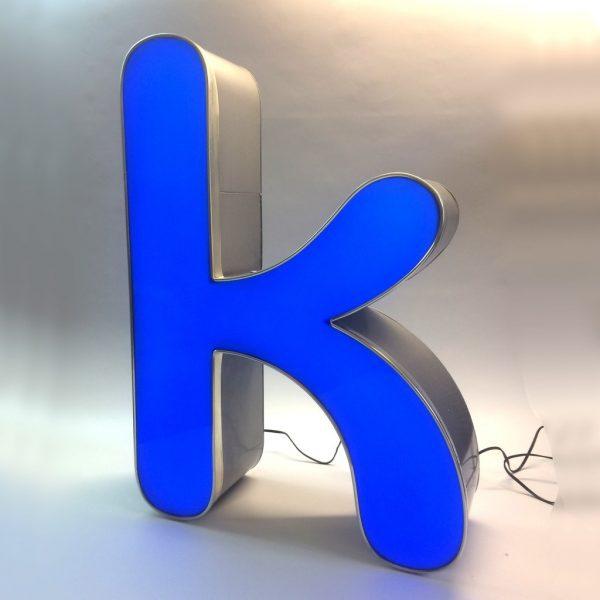 Leuchtbuchstabe K