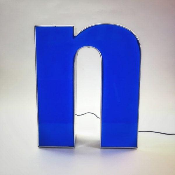 Leuchtbuchstabe N
